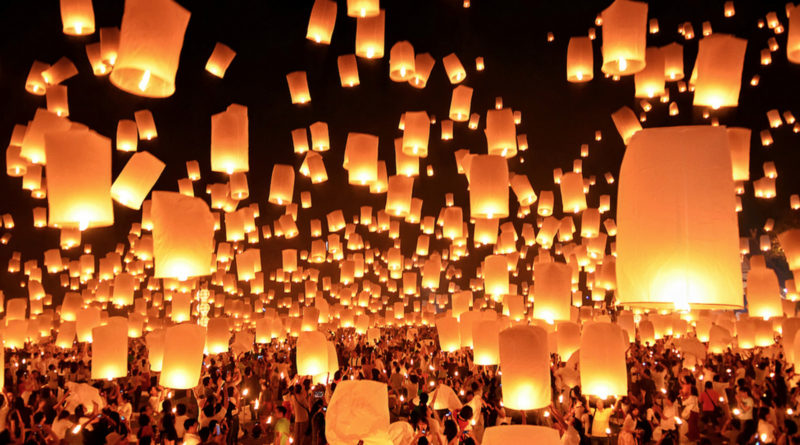 "Image downloaded from Flickr; Image title ""Loi Krathong festival Thai"", attributed to UrbanUrban_Ru. Used under Creative Commons license Attribution-ShareAlike 2.0 Generic (CC BY-SA 2.0) https://creativecommons.org/licenses/by-sa/2.0/"