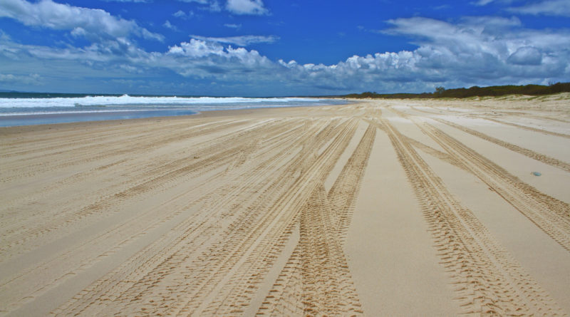 "Image downloaded from Flickr; Image title ""Bribie Island Beach"", attributed to Graham Cook. Used under Creative Commons license Attribution 2.0 Generic (CC BY 2.0) https://creativecommons.org/licenses/by/2.0/"