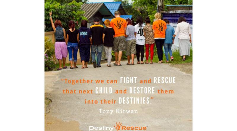 Mission Spotlight – Destiny Rescue