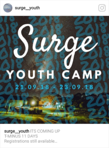 Surge Camp @ North Maleny | Queensland | Australia