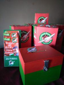 Christmas Shoebox packing day @ The Greenhouse   Bokarina   Queensland   Australia