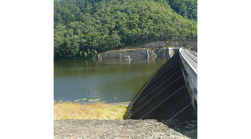 Borumba Dam image from SEQ Water
