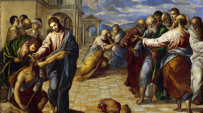 'Christ Healing the Blind', El Greco [Public domain]