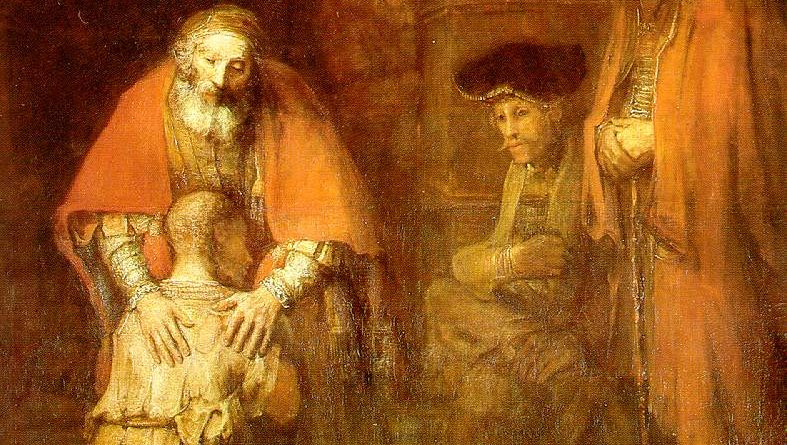 Rembrandt Harmensz van Rijn - 'Return of the Prodigal Son', Rembrandt, circa 1668. In the Public Domain.