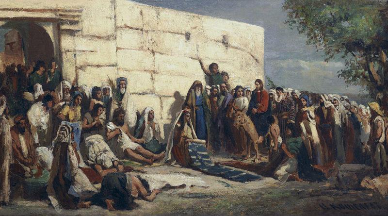 Triumphal entry into Jerusalem: Nikolay Koshelev