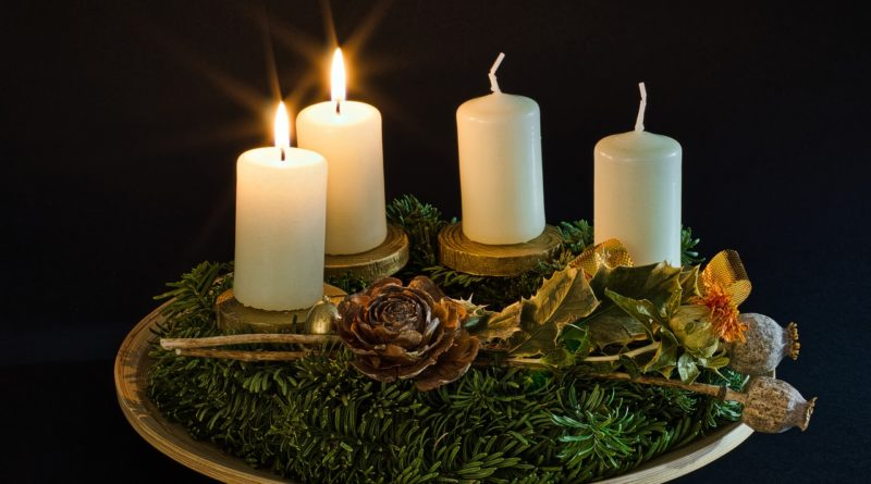 Candles 2nd Sunday in Advent