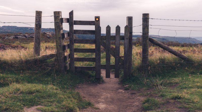 Narrow gate, rough path